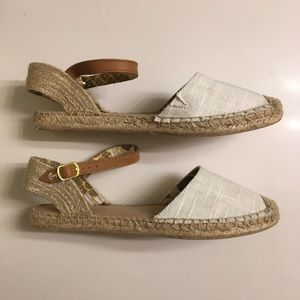 SPERRY white espadrilles size 8 BRAND NEW!